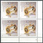 (1988) MiNr. 1383 ** - Bundesrepublik Deutschland - 4-er - Gold- und Silberschmiedekunst