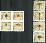 (1991) MiNr. 1545 - 1552 ** - Německo - zn. + 4-bl - vážky