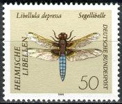 (1991) MiNr. 1545 ** - Německo - vážky