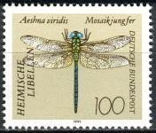 (1991) MiNr. 1551 ** - Německo - vážky