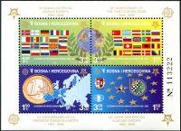 (2005) MiNr. 419 - 422 A ** - Bosna a Hercegovina - BLOCK 27A - 50 let série EUROPA