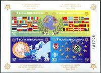(2005) MiNr. 419 - 422 B ** - Bosna a Hercegovina - BLOCK 27 B - 50 let série EUROPA