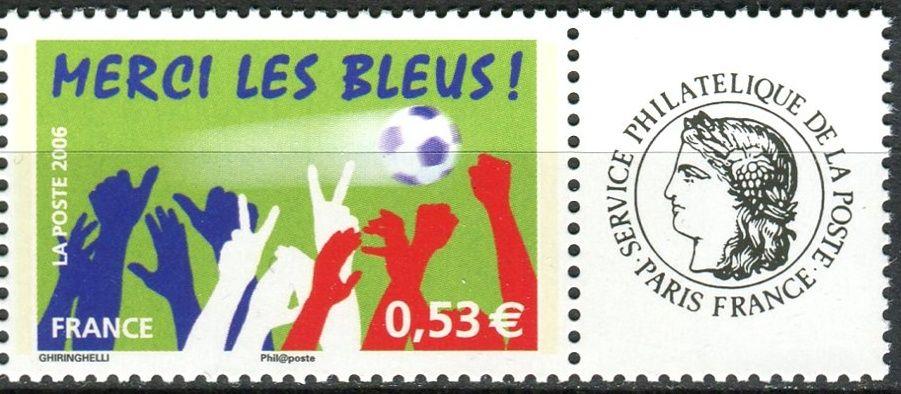 (2006) MiNr. 4132 ** - Francie - Finále francouzského národního týmu na mistrovství světa ve fotbale v Německu