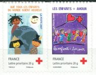 (2007) MiNr. 4339 - 4340 ** - Francie - sp - Červený kříž