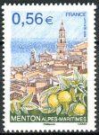 (2009) MiNr. 4597 ** - Francie - Cestovní ruch - Staré město Menton, citrony