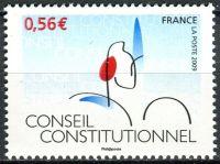 (2009) MiNr. 4618 ** - Francie - 50 let Ústavní rada (2008)