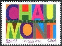 (2009) MiNr. 4684 ** - Francie - 20 let Mezinárodní festival plakátového umění a grafiky, Chaumont