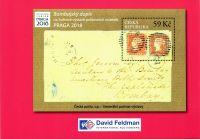 (2018) PT 37 D - Praga 2018 + Bombajský dopis - David Feldman!