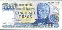Argentina (P 305 b) - 5000 pesos (1981) - UNC