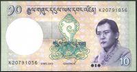 Bhútán - (P 29b) - 10 Ngultrum (2013) - UNC