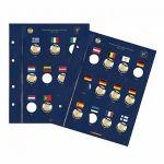 VISTA blätter - 2 Euromünzen - 30 Jahre EU-Flagge (1985-2015)