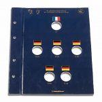 VISTA listy - 2 Euro mince - 50. výročí Elysejské smlouvy