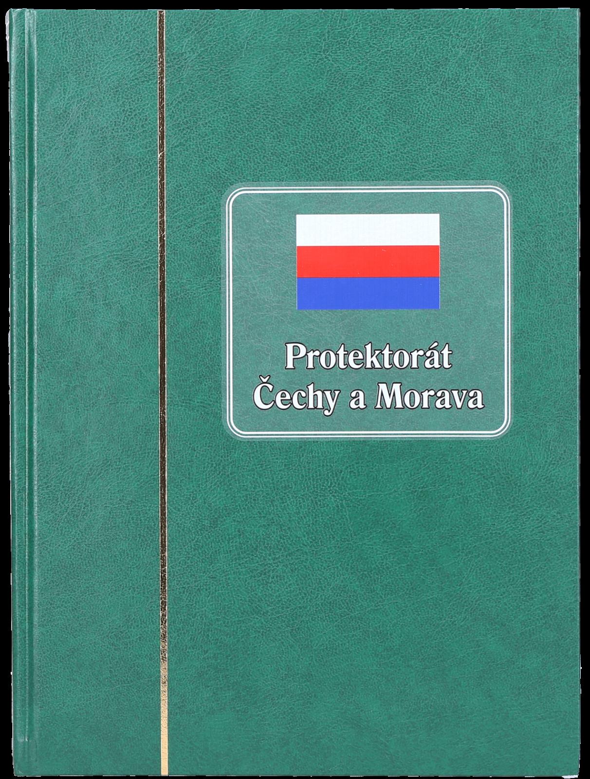 Zásobník - Protektorát Čechy a Morava - A4, 30 stran, bílé listy, dělená stránka , 9 řádků