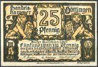 (1920) Göttingen - 25 Pfening (UNC)