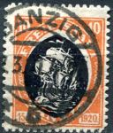 (1921) MiNr. 54 - O - Danzing - Svobodného stát Danzig