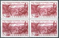 (1966) MiNr. 737 ** - Lucembursko - 4-bl - krajiny