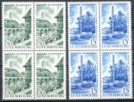 (1966) MiNr. 738 - 739 ** - Lucembursko - 4-bl - Evropské centrum Lucembursko