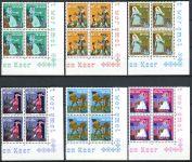 (1966) MiNr. 740 - 745 ** - Lucembursko - 4-bl - Charita