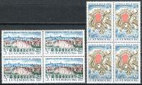 (1967) MiNr. 746 - 747 ** - Lucembursko - 4-bl - 100 let Londýnská smlouva
