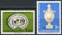 (1967) MiNr. 754 - 755 ** - Lucembursko - 200 let lucemburské fajánse