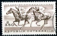 (1968) MiNr. 1265 - O - Rakousko - 100 let Dostihy Vídeň - Freudenau