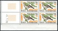 (1970) MiNo. 806 ** - Luxembourg - 4-er - coupon - 50 years Luxembourg National Association