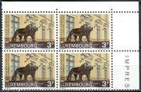(1970) MiNr. 812 - ** - Lucembursko - 4-bl - Město Lucembursko - konsorcium 5 obcí