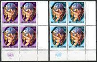 (1974) MiNr. 275 - 276 ** - OSN New York - 4-bl - Rok světové populace