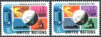 (1975) MiNr. 279 - 280 ** - OSN New York - Mírové využívání kosmického prostoru