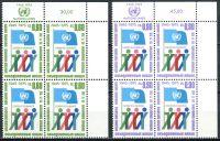 (1975) MiNr. 50 - 51 A ** - OSN Ženeva - 4-er - 30 let Organizace spojených národů (OSN)