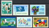 (1979) MiNr. 1 - 6 ** - OSN Vídeň - Známky: vlajky, OSN