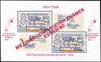 (1980) A 2460 - I. typ ** - Československo - Veletrh poštovních známek - Essen