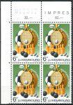 (1980) MiNr. 1011 - ** - Lucembursko - 4-bl - Sport pro každého