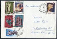 Dopis - Itálie - Německo
