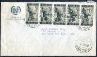 Letecký dopis - Itálie - USA - MiNr. 947