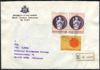 R - dopis - San Marino