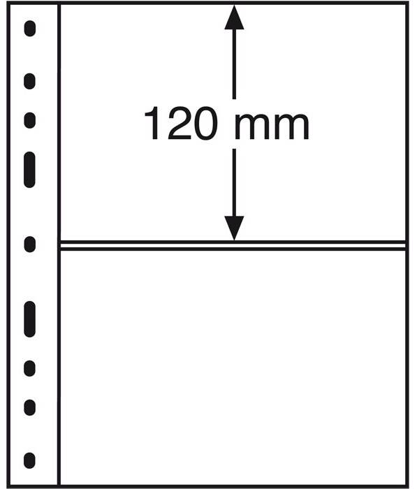 OPTIMA listy - 2C - průhledné (bal. 10 ks)