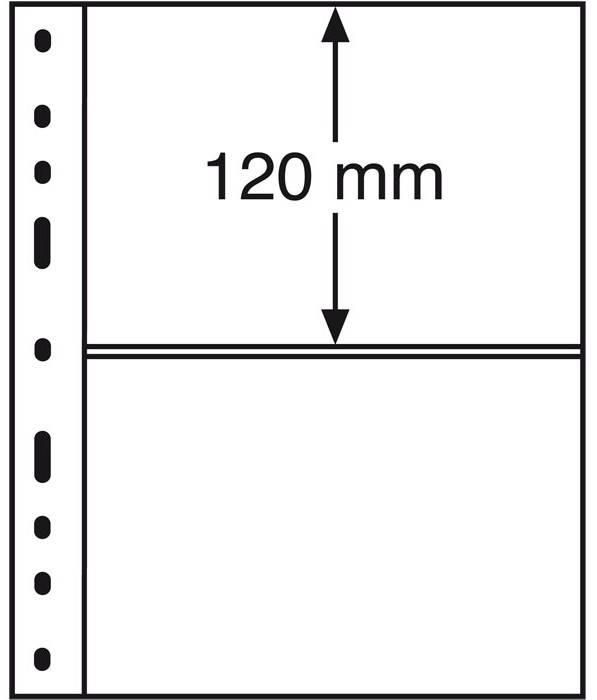 OPTIMA listy - 2C - průhledné (bal. 10 ks) Leuchtturm