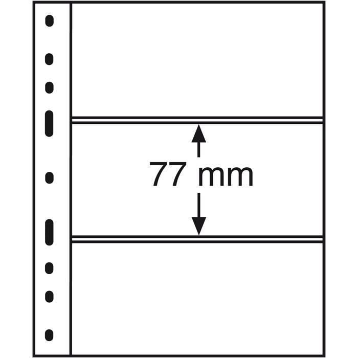 OPTIMA listy - 3C - průhledné (bal. 10 ks)