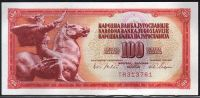 Jugoslávie - (P80a) 100 DINARA 1965 - UNC