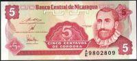 Nikaragua (P168) - 5 centavos (1991) - UNC
