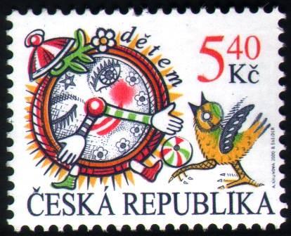 (2000) č. 259 ** - Česká rep. - 5,40 Kč - DĚTEM