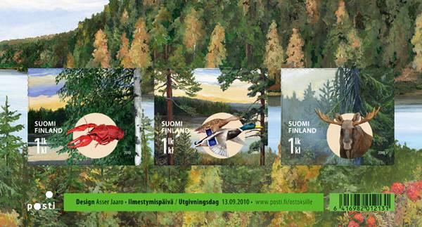 (2010) č. 2054-2056 ** - Finsko - BLOCK 61 - Podzim