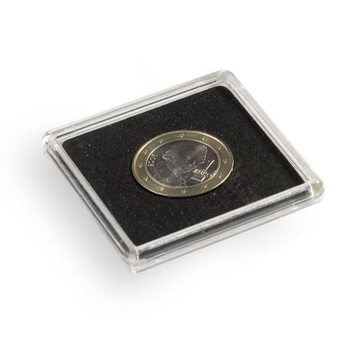 Kapsle na mince QUADRUM - vnitřní Ø 22 mm (bal. 10 ks)