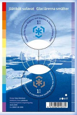 (2009) č. 1959-1960 ** - Finsko - BLOCK 55 - Ochrana polárních krajů