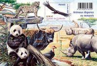 (2009) č. 4705-4708 ** - Francie -  BLOCK 107 - zvířata