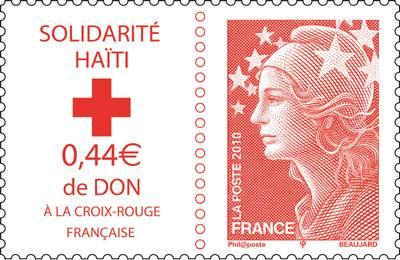 (2010) č. 4803 ** - Francie - Fr. červený kříž - HAITI
