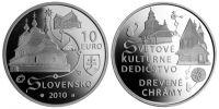 (2010) 10€ Ag (proof) - Slovensko - UNESCO