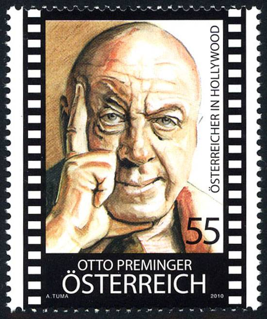 (2010) MiNr. 2851 ** - Rakousko - Rakušané v Hollywoodu - Otto Preminger