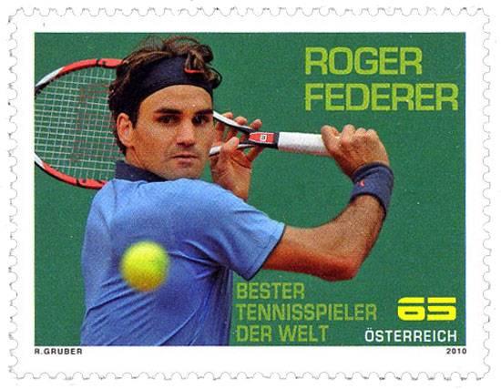 (2010) č. 2852 ** - Rakousko - Roger Federer
